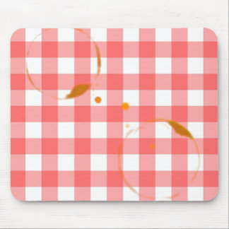 Tablecloth Ring Stains Mouse Pad