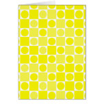 Tablero amarillo y blanco del control felicitacion