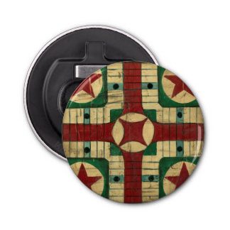 Tablero antiguo del juego de Parcheesi de Ethan Abrebotellas Redondo