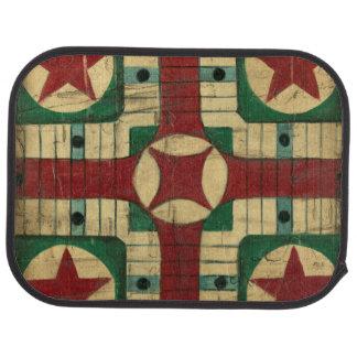 Tablero antiguo del juego de Parcheesi de Ethan Alfombrilla De Coche