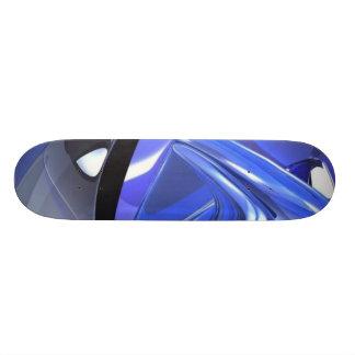 Tablero azul abstracto patinetas personalizadas