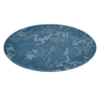 Tablero azul claro del corte del vidrio de Camo Tablas De Cortar
