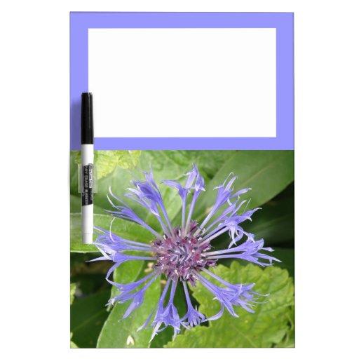 Tablero azul de la nota del Cornflower Pizarra Blanca