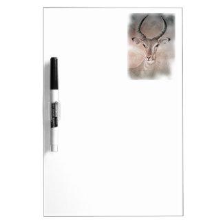 Tablero blanco del antílope