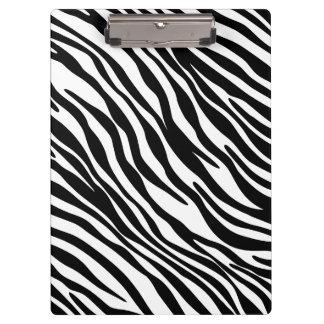 Tablero blanco y negro de moda del estampado de ze