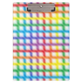 Tablero borroso de la armadura del arco iris