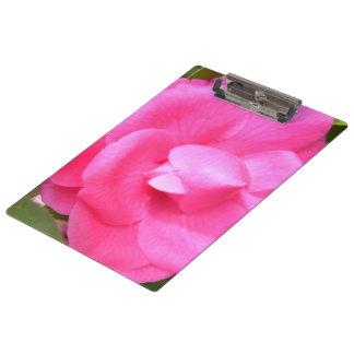 Tablero - camelias rosadas oscuras