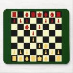 Tablero de ajedrez alfombrilla de ratones