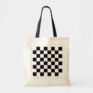 Tablero de ajedrez bolsa tela barata