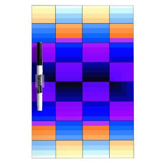 Tablero de ajedrez del color del espectro de la il pizarras blancas