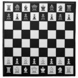 Tablero de ajedrez del OPUS Servilleta De Papel