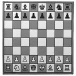 Tablero de ajedrez del OPUS Servilletas