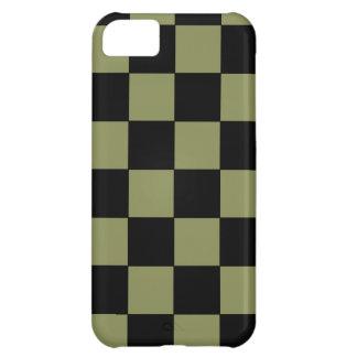 Tablero de ajedrez del tablero de damas del verde