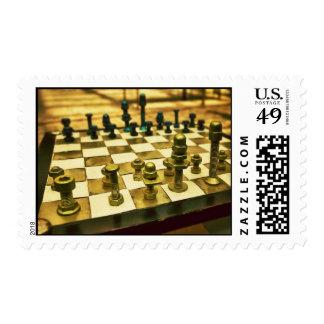 Tablero de ajedrez fresco con las nueces - y - envio