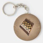 Tablero de ajedrez llaveros personalizados
