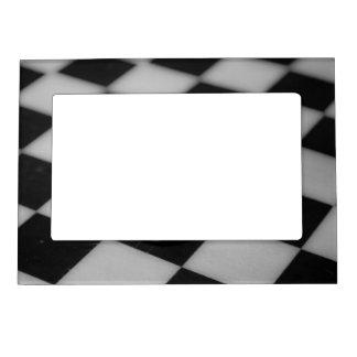 Tablero de ajedrez marcos magnéticos de fotos