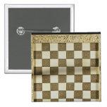 Tablero de ajedrez pin cuadrado
