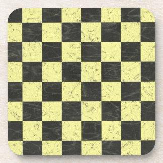 Tablero de ajedrez posavasos