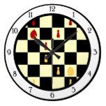 Tablero de ajedrez reloj