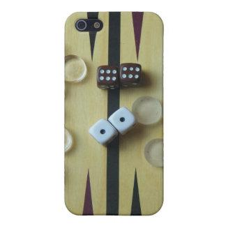 Tablero de backgammon iPhone 5 funda