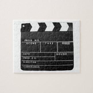Tablero de chapaleta video de la producción de la puzzle