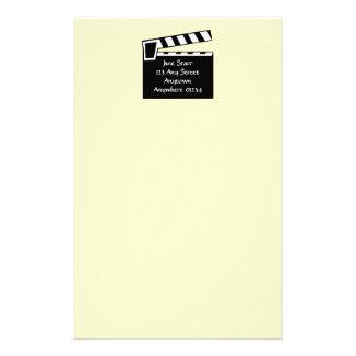 Tablero de Clapperboard de la pizarra de la Papelería De Diseño