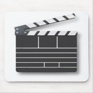 tablero de clip de la película alfombrillas de ratón