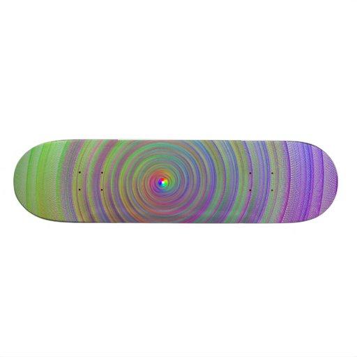 Tablero de Colorswirl Tablas De Patinar