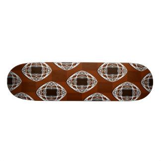 Tablero de damas Brown del ojo de Nouveau Tablas De Skate