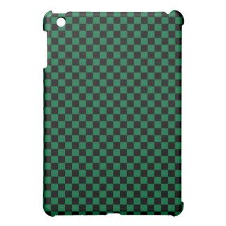 Tablero de damas verde y negro