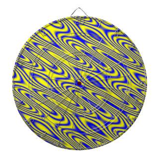 Tablero de dardo abstracto del modelo de Swirlies