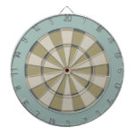Tablero de dardo colorido en neutrales silenciados tabla dardos