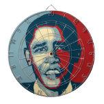 Tablero de dardo de Barack Obama Tablero De Dardos