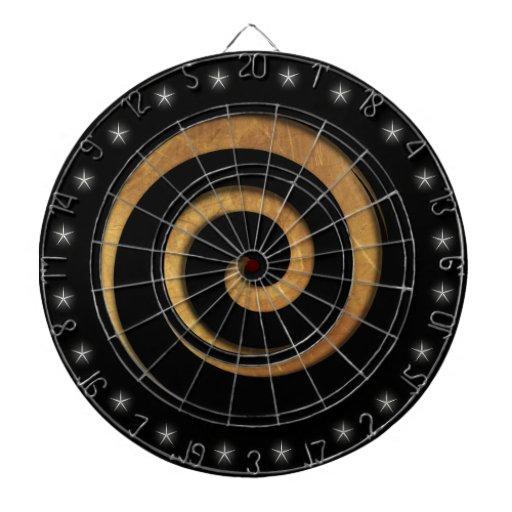 Tablero de dardo de encargo de la rueda hipnótica  tablero dardos