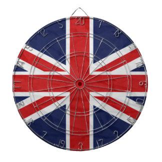 Tablero de dardo de la bandera de Reino Unido Tabla Dardos