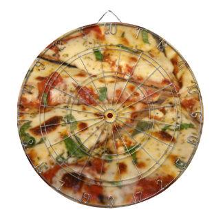 Tablero de dardo de la pizza