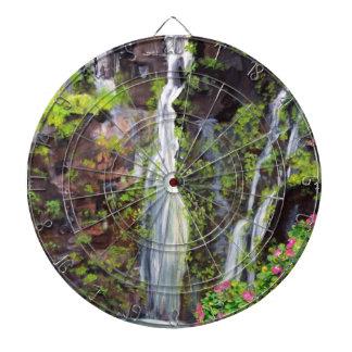 Tablero de dardo de las cascadas de Hana Tablero Dardos