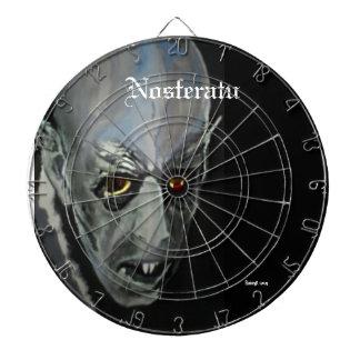 "Tablero de dardo de ""Nosferatu"" (vampiro)"