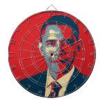 Tablero de dardo de Obama Tablero Dardos
