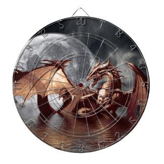 Tablero de dardo del arte de la fantasía del dragó