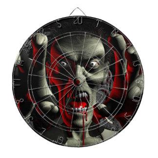 Tablero de dardo del Cabeza-Tiro del zombi