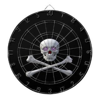 Tablero de dardo del cráneo Sk8ter Tablero De Dardos