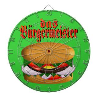 tablero de dardo del das Burgermeister