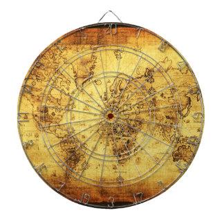 Tablero de dardo del diseñador del mapa de Viejo M Tablero De Dardos