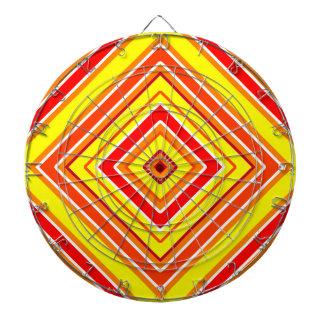 Tablero de dardo del diseño geométrico