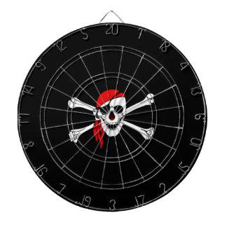 Tablero de dardo del pirata