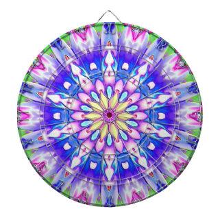 Tablero de dardo dramático del diseño geométrico d