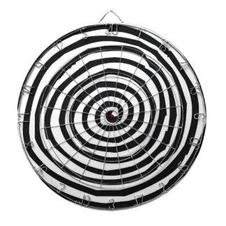 Tablero de dardo espiral del diseño del arte tablero de dardos