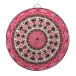 Tablero de dardo geométrico del diseño de la manda tablero de dardos