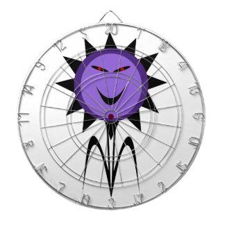 Tablero de dardo malvado de Halloween del gótico d